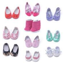 62f31ec88c178 Différents styles mignon American girl chaussures fit pour 18 pouce poupée  American girl(China)