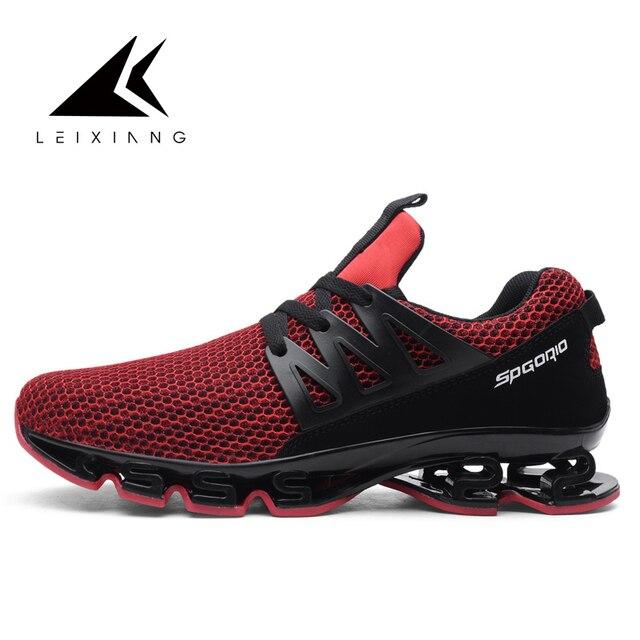 04e3211d 2018 Super fajna para buty do biegania męskie trampki bounce letnie buty  sportowe damskie profesjonalne buty