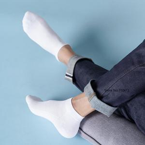 Image 3 - Xiaomi 365 nosić męskie oddychające skarpety wiosenne i letnie antybakteryjne skarpetki miękkie i wygodne męskie krótkie skarpetki