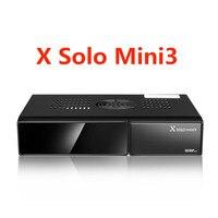 X SOLO MINI3 Ricevitore Satellitare 1200 MHz Dual Processor 1 GB DDR3 4 GB Flash Seriale DMIPS DVB-S2 + DVB-T2/C X solo mini 3