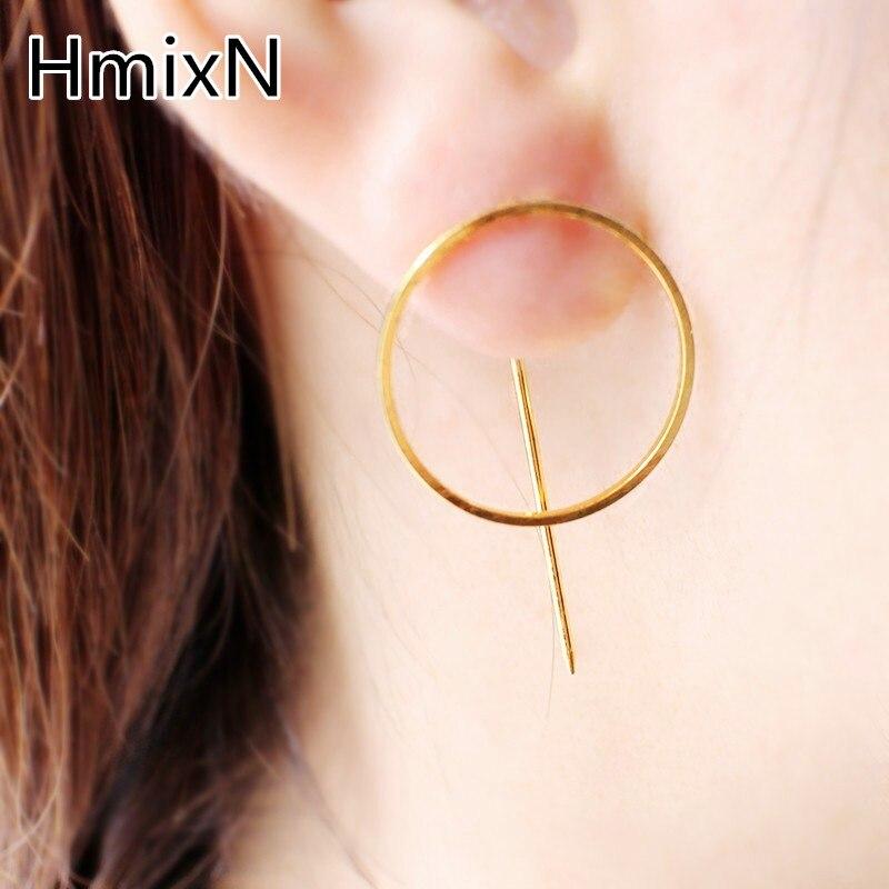 Big Circle Earring Simple Minimalism Fashion Statement Jewelry ...