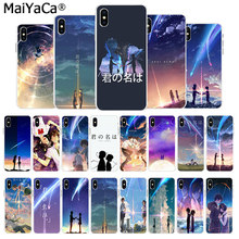 MaiYaCa HOT Kiminonawa Your Name Japanese on sell Phone Case For iphone 11 pro X 66S 7 7plus 8 8Plus 5S SE XS XR XS MAX cover(China)