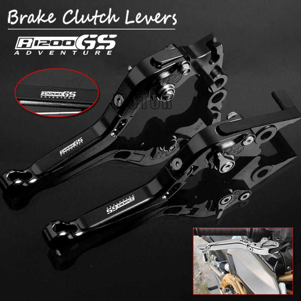Motorcycles CNC Aluminum Brake Clutch Levers For BMW R1200GS Adventure 2006 2013 R1200 GS Adv LC 2014 2018 Adjustable Foldable