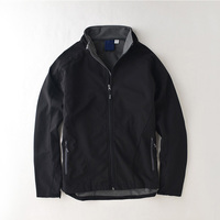 Timmiury Winter Mens Outerwear Jackets Waterproof Embroidery Fleece Overcoats Black Blue Red S M L XL
