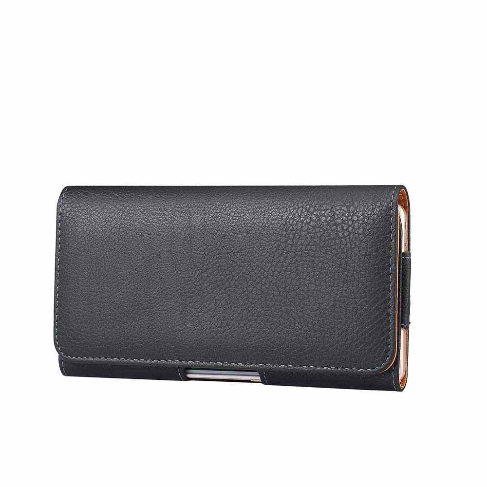 5c183360c3bd Universal Leather Phone Bag For Samsung iphone Opening Holster Cover Pocket  Wallet Pouch Case Fit For LG HTC All Phone Model