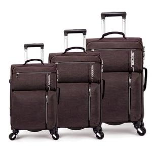 """Image 3 - נסיעות סיפור 20 """"24"""" 28 """"אינץ waterproof ספינר עגלת שרות מזוודת סט 3 חתיכות סט מזוודות לנסיעות"""