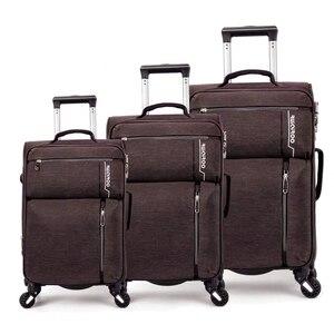 """Image 3 - VIAGGIO RACCONTO 20 """"24"""" 28 """"pollici impermeabile spinner trolly valigia set 3 pezzi set di valigie per il viaggio"""