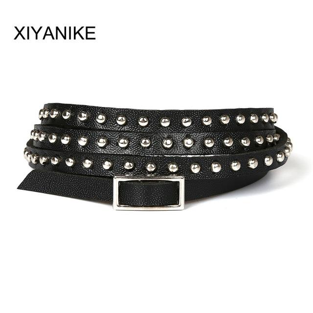 2015 Fashion Multi-layer Rivet Winding Wrapped Leather Bracelets for Woman XY-B109 – B114