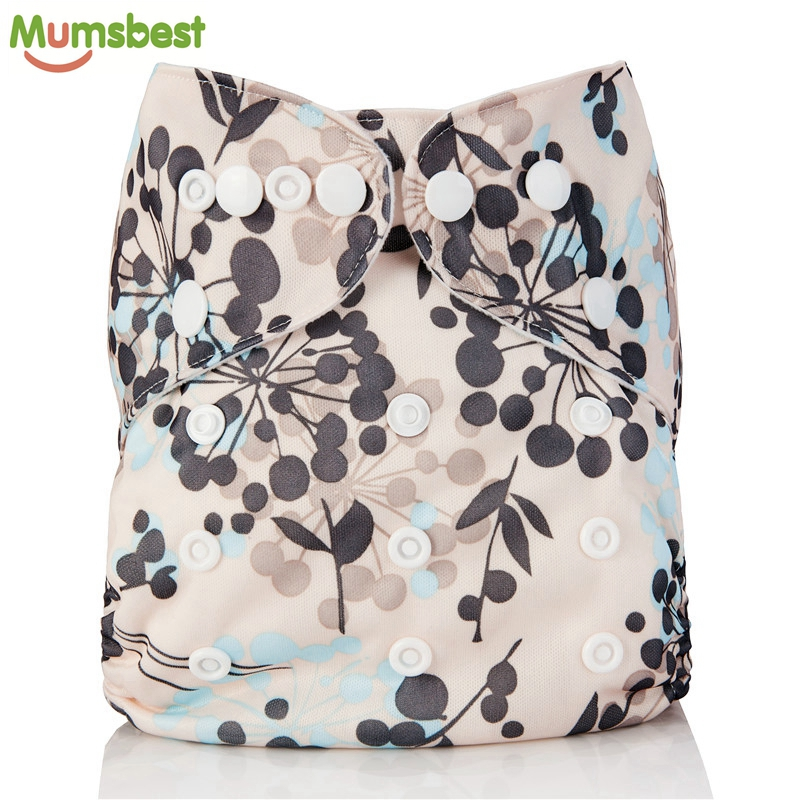 [Mumsbest]New Baby Washable Cloth Diaper Pocket Cartoon Animal Adjustable Nappy Reusable Cloth Diapers Available 0-2years 3-15kg(China)