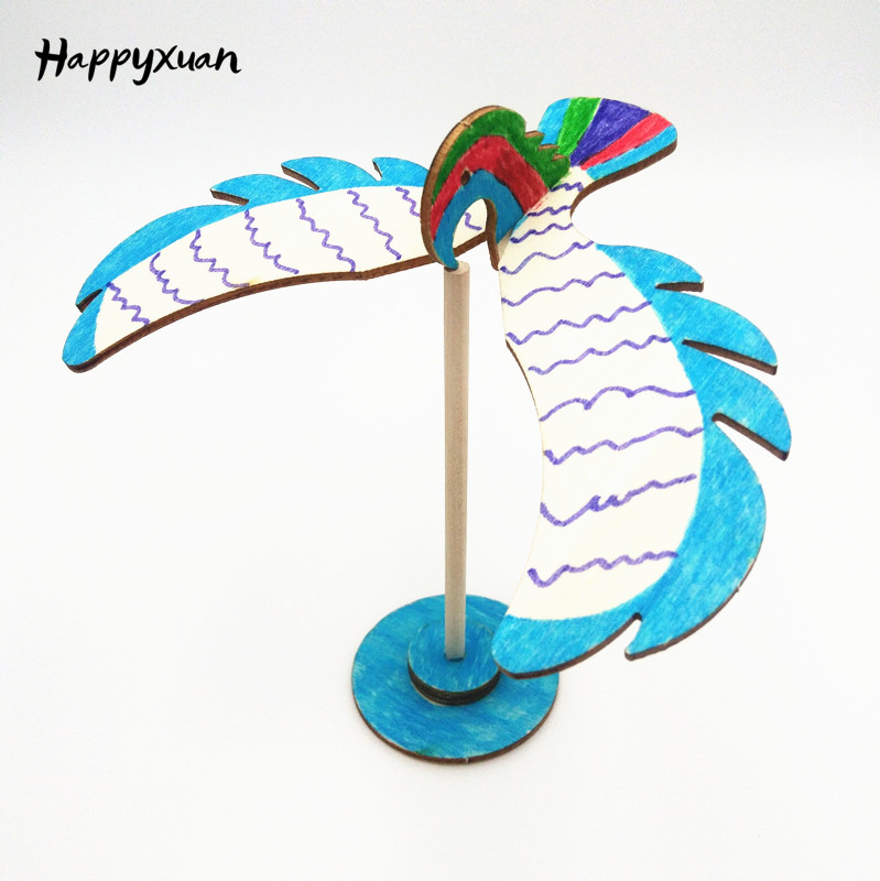 Happyxuan Balance Eagle Bird DIY Science Discovery Toys Primary School Education Physics Games Experiments Sets Kids Inventions