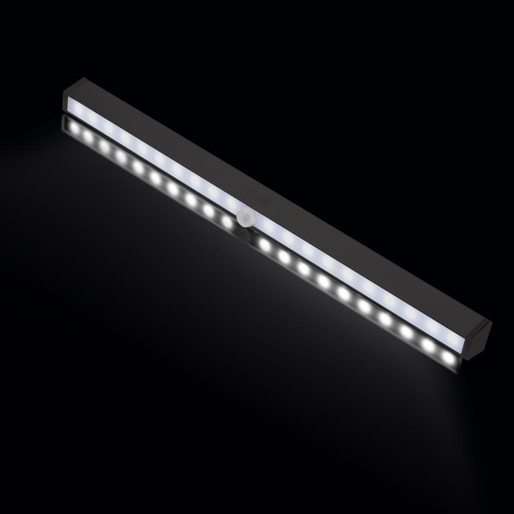 Menyesuaikan 20 LED Motion Sensor Lamp Daya Baterai 20 led PIR - Lampu malam - Foto 2