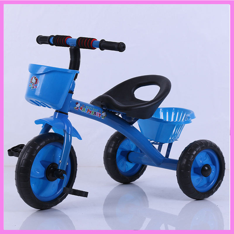 Rotary Chair Child Tricycle Bicycle Baby Three Wheels Stroller Umbrella Trolley Trike Baby Carriage Flat Lying Pushchair Pram