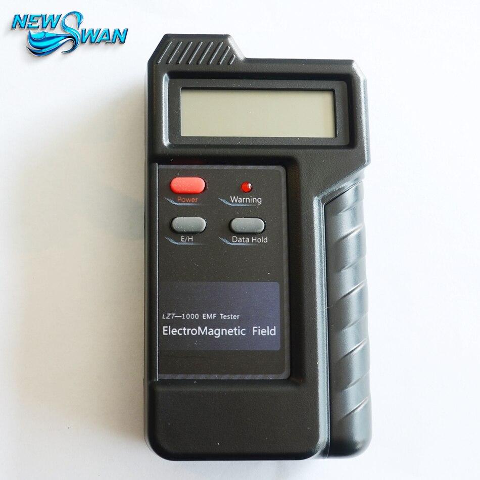 Electromagnetic Radiation Detector LZT-1000 Meter Tester Sensor Indicator Dosimeter For Home Use tes 1333 solar power meter digital radiation detector solar cell energy tester