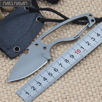 Free Shipping High Hardness DPX Fixed Blade Knife Multi Functional Knife Wilderness Survival Tools The Sharp