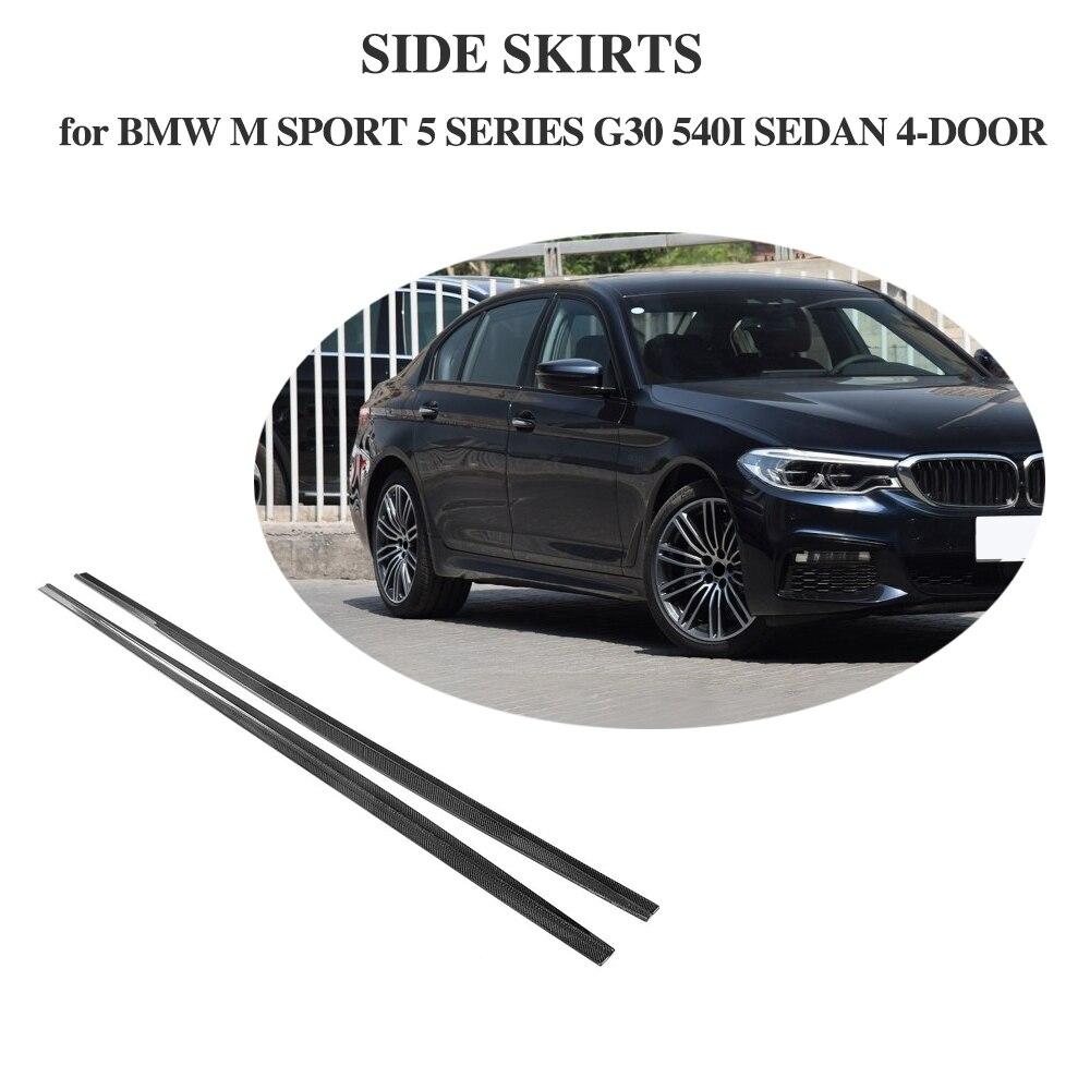 Buy Carbon Fiber Rear Trunk Lip Spoiler Boot Wing Nissan Gtr32 Main Harness Wiring Diagram Car Side Skirts Body Apron For Bmw 5 Series G30 M Sport Sedan