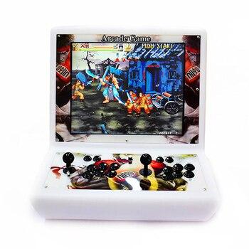 2222 en 1 Pandora consola de videojuegos Arcade 19 pulgadas Mini Bartop máquina Arcade