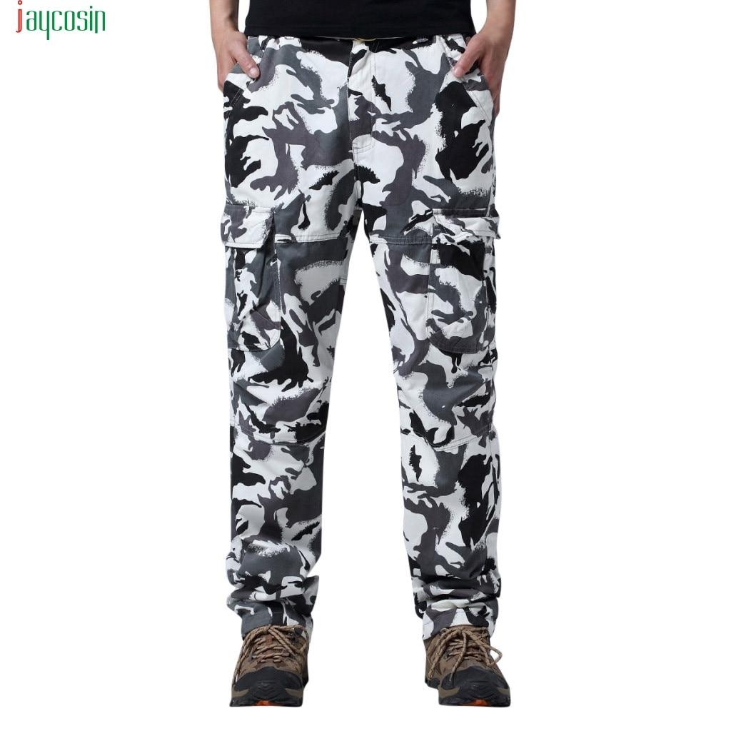 Jaycosin Men S Outdoor Camouflage Trousers White Sport Pants Fashion Safari Style Pants Pantalones De Camuflaje Para Hombre Aliexpress