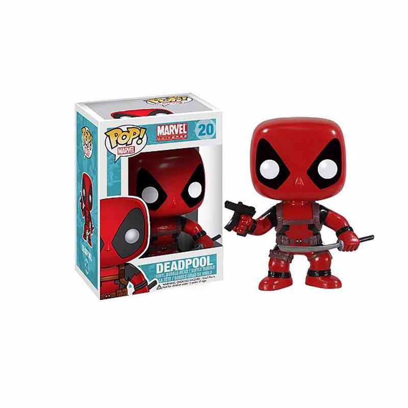 FUNKO POP MARVEL DEADPOOL -Wade Winston Wilson action Figure model toys collectible PVC Model gift Toys for children