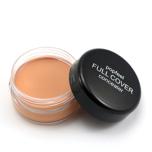 Base Concealer Cream Face Cover Blemish Hide Dark Spot Blemish Eye Lip Contour Makeup Liquid Foundation Cosmetic Concealer Cream 2