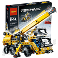 267 unids bela technic 3348 mini-grúa móvil modelo kit de construcción bloques juguetes clásicos playset ladrillo compatible con lego