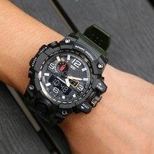 2018 Shock Men Digital Wristwatches Outdoor Choice Sport Watch LED Multifunction