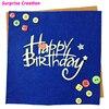 Surprise Creation Cutting dies Happy Birthday Scrapbook Craft Metal Dies Birthday Celebration DIY Stencil
