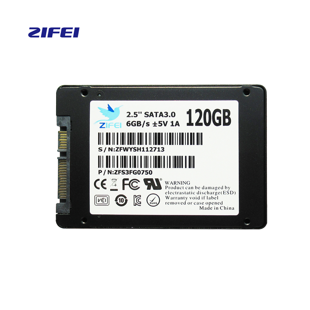 ZIFEI Z500 SSD 128GB Solid State Drive 2.5 inch SATA III HDD Hard Disk HD SSD Notebook Desktop 120 gb ...