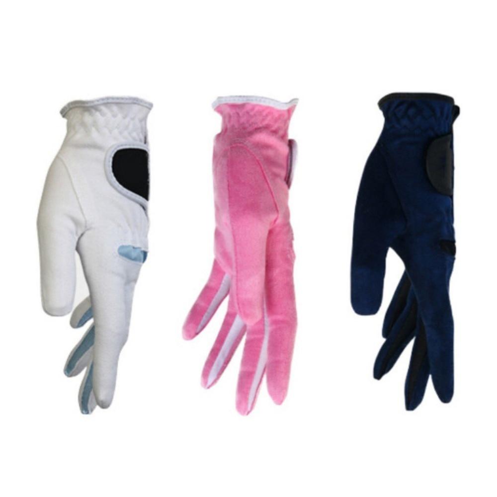 4dd42c22d 1 Pair Men Women Golf Sports Gloves Breathable Anti-skid Microfiber Durable  Golf Gloves