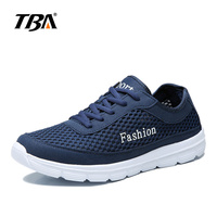 2017 TBA Men's outdoor light jogging shoes lace up athletic sneakers Breathable Mesh running Shoes T1419