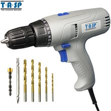 TASP 280W 2 Speed Electric Drill Screwdriver   Keyless Chuck   5m Cable for Better Drilling & Screwing Power Tool Set  MESD280C