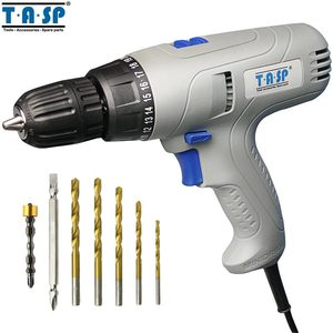 Image 1 - TASP 280W 2 Speed Electric Drill Screwdriver   Keyless Chuck   5m Cable for Better Drilling & Screwing Power Tool Set  MESD280C