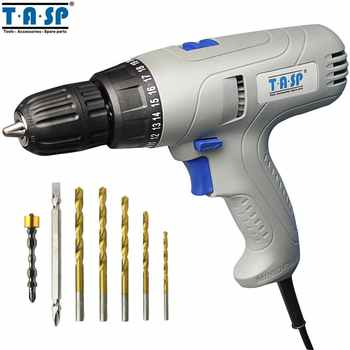 TASP 280W 2-Speed Electric Drill Screwdriver - Keyless Chuck - 5m Cable for Better Drilling & Screwing Power Tool Set -MESD280C - DISCOUNT ITEM  85 OFF Tools