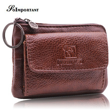 hot deal buy genuine leather wallet women card holder small wallets coin purse female multi function slim wallet key ring organizer wallets