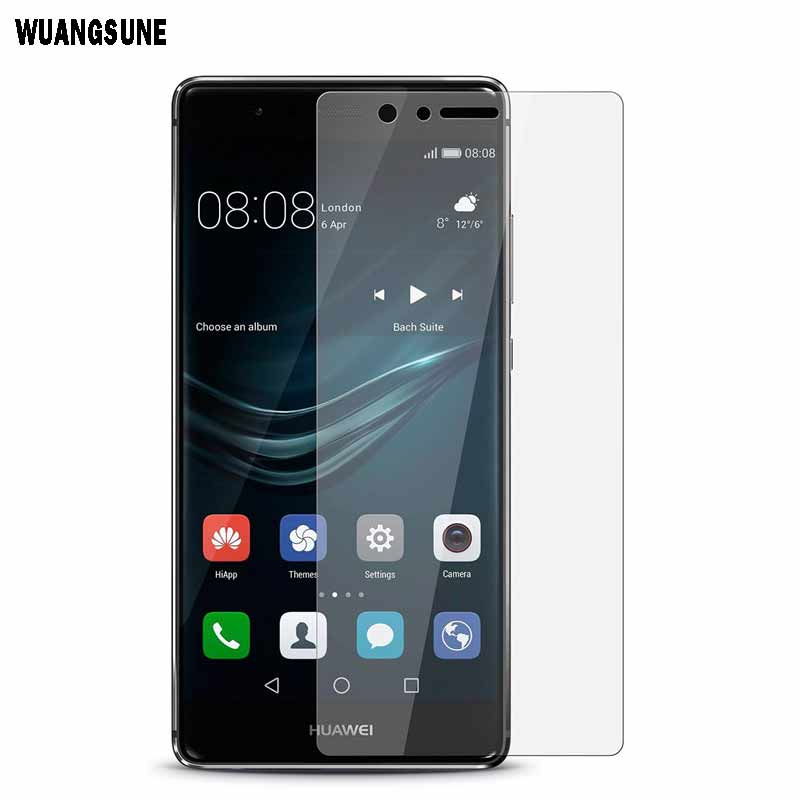 For Huawei P8 P8 lite P9 plus Tempered Glass film Screen Protector 0.3mm 2.5D Round Edge  9H Hardness Crystal Clear GlassFor Huawei P8 P8 lite P9 plus Tempered Glass film Screen Protector 0.3mm 2.5D Round Edge  9H Hardness Crystal Clear Glass