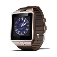 ZAOYIEXPORT Wearable Dispositivos Android Reloj Bluetooth Reloj Inteligente DZ09 con SIM/TF Ranura de la Tarjeta Para Apple Xiaomi Teléfono PK Gt08 Reloj