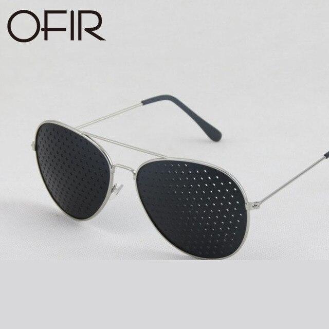 OFIR Retro Óculos De Sol Das Mulheres Dos Homens Pequenos Furos Óculos  Cuidados Com a Visão e33ce86d57