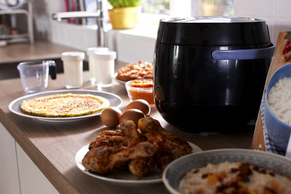 Pampered micro cooker chef rice