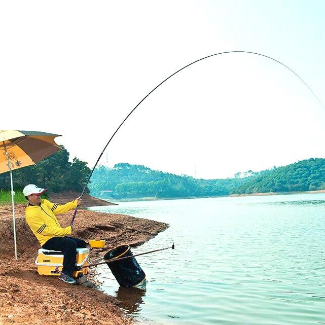 Высокое качество ультра легкий Супер жесткий 28 карповая Удочка М 6,3/5,4 м длинная Тайваньская Удочка речной поток рыболовная рука удочка