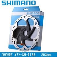 SHIMANO DEORE XT SM RT81 Disc Rotor MTB Bike Bicycle Disc Brake Rotor 203mm RT81 CenterLock