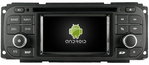 Android 5.1 lettore dvd dell'automobile per CHRYSLER JEEP DODGE Jeep Liberty 300 m PT Cruiser Sebring Sedan Sebring Concorde Stratus stereo FM