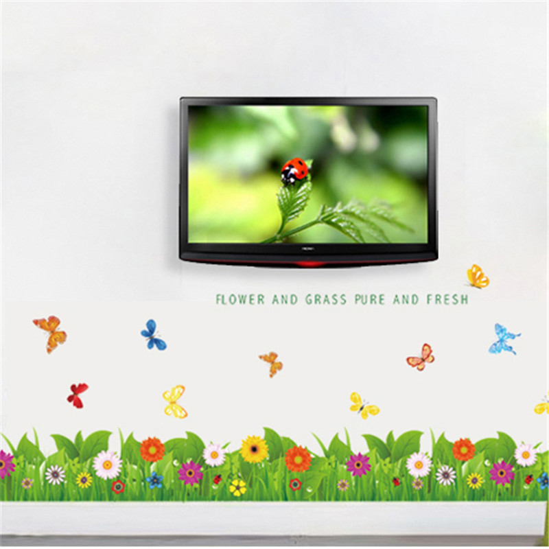 Hautes Herbes Wall Decal Grass Wall Decal Vinyle Wall Decal