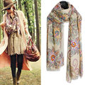 New Fashion Women Ladies Vintage Long Scarf Shawl Wrap Scarves