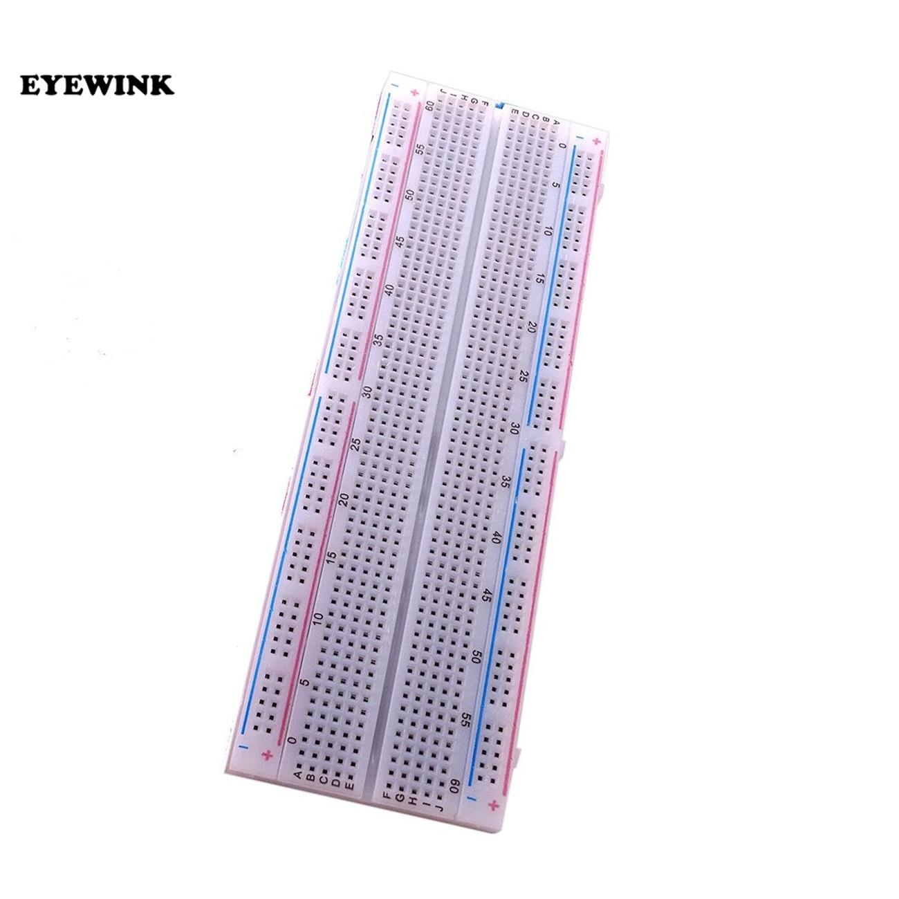 10 sztuk Breadboard 830 punkt płytka drukowana MB-102 MB102 Test opracowanie DIY zestaw nodemcu dla raspberri pi 2 lcd wysokiej częstotliwości