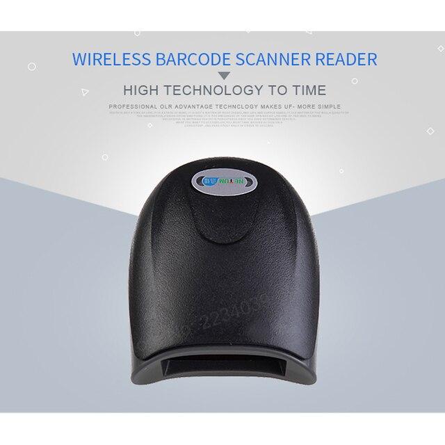 Ad alta sensibilità Wireless Scanner di Codici A Barre laser lettore di codici a barre scanner USB portatile senza fili lettore di codici a barre per I Supermercati 6