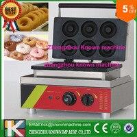 6 шт. / время промышленного мини пончик машина / электрическая мини пончик для малого бизнеса
