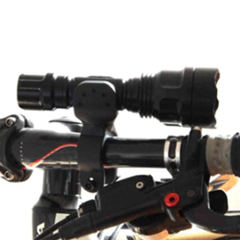 Soporte del faro Universal de bicicleta de ciclismo con rotación de 360 grados, pinza de luz para lámpara, accesorio para bicicleta de montaña MTB