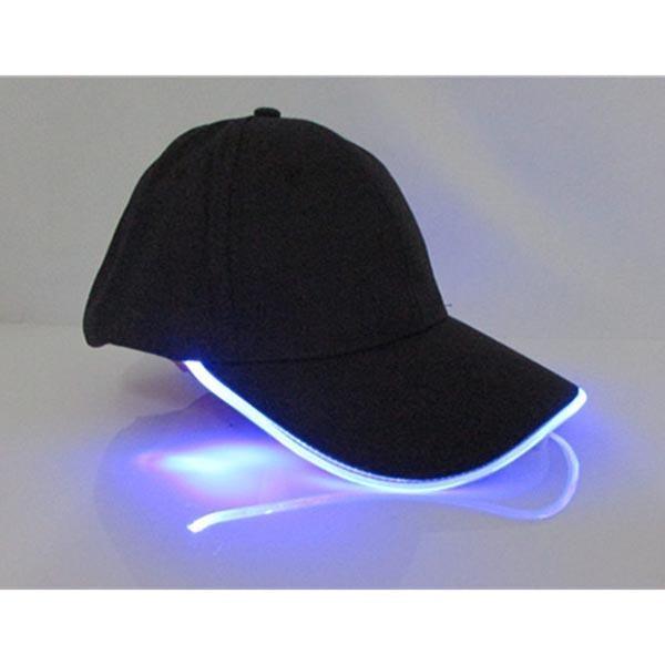 Unisex LED Lighted Hat Black Baseball Golf Hip-hop Club Sports Cap Angling Hunting Camping Running High Quality