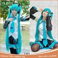 Wig Cosplay Miku Cos Split Wig Hatsune Miku Hatsune Miku Wig and 2 Clip On Ponytail Cosplay Hot Selling Heat Resistent Wigs