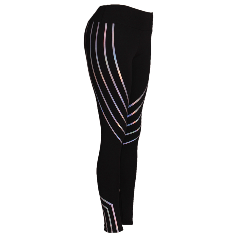 2018 Fashion Women Leggings Slim High Waist Elasticity Leggings Fitness Printing leggins  Breathable Woman Pants Leggings 4
