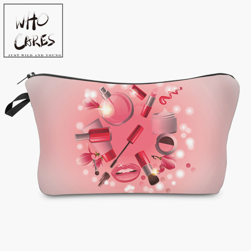 beauty 3D printing Cosmetic Bag women makeup bag 2018 Fashion New cosmetic cares trousse de maquillage neceser unicorn 3d printing fashion makeup bag maleta de maquiagem cosmetic bag necessaire bags organizer party neceser maquillaje
